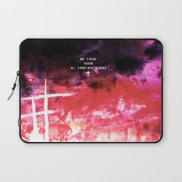 God's in his heaven Laptop Sleeve
