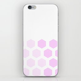 Pink Hex iPhone Skin