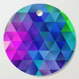 Color Wave Cutting Board