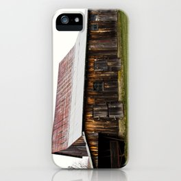 Weathered Timber iPhone Case