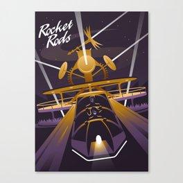 Rocket Rods Canvas Print