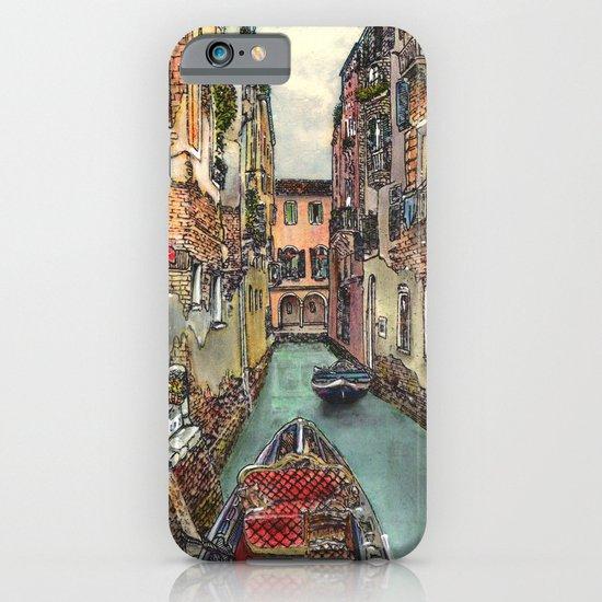 Autumn in Venice iPhone & iPod Case