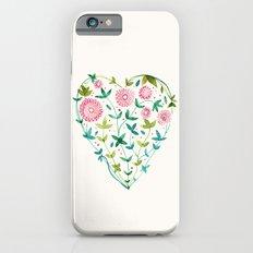 garden heart iPhone 6s Slim Case