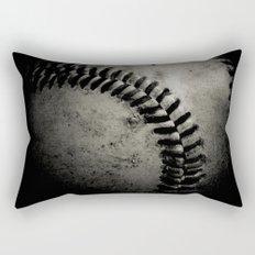 Baseball Dark Rectangular Pillow