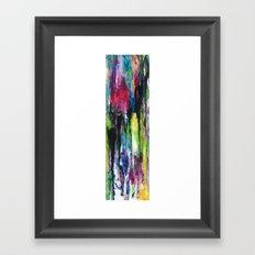 Heart Drops Framed Art Print