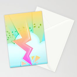Lightning festival Stationery Cards