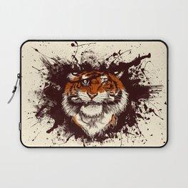 TigARRGH (Maroon and Orange) Laptop Sleeve