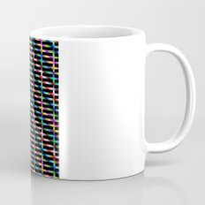 Diagonal Grid Mug