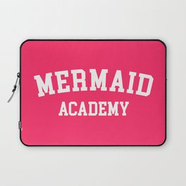 Mermaid Academy Cute Quote Laptop Sleeve