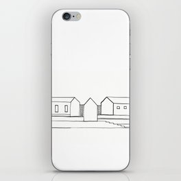 Stairs and Houses - 3 iPhone Skin