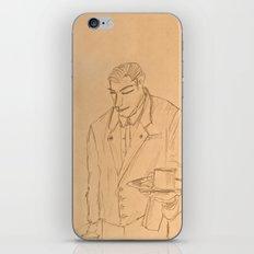 The Waiter iPhone & iPod Skin