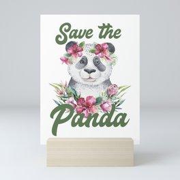 Save the Panda -#3 Mini Art Print