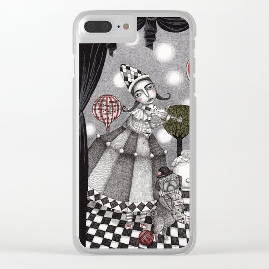 Alice's After Tea Concert Clear iPhone Case