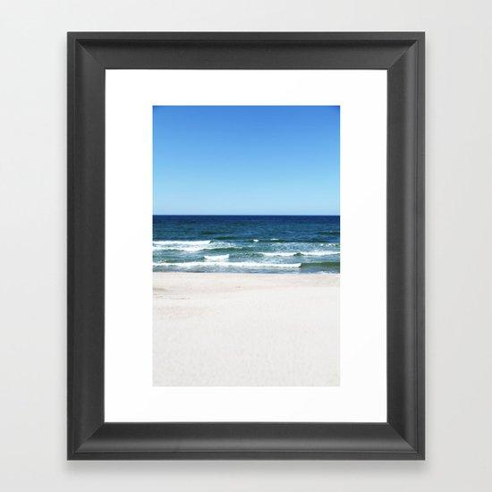 sea calling Framed Art Print