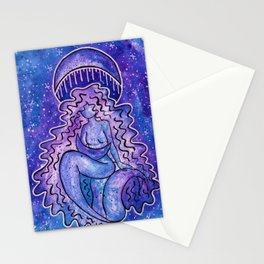 Cosmic Moon Mother Stationery Cards