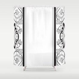 Grapeleaves Deco Shower Curtain