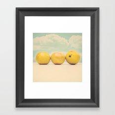 Sunny At Breakfast time Framed Art Print