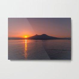 Sunrise in Montenegro Metal Print