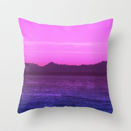 Bi Pride Throw Pillow