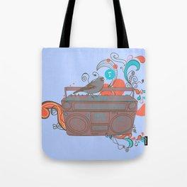 Retro Music Tote Bag