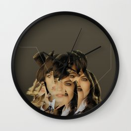 Another Portrait Disaster · Pipi B Wall Clock