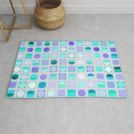 Circles and Squares Rug
