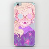 luna lovegood iPhone & iPod Skins featuring Luna Lovegood by Magnta