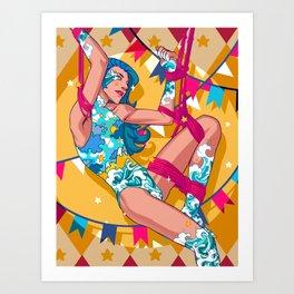 Cyrcus Art Print