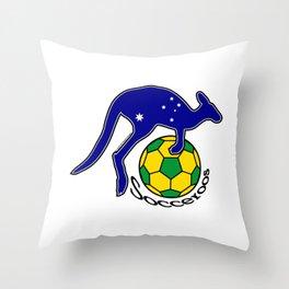 Australia Socceroos ~Group C~ Throw Pillow