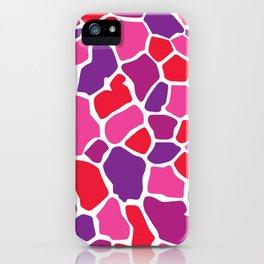 Giraffe Print iPhone Case