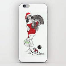 Tangled up in Christmas iPhone & iPod Skin