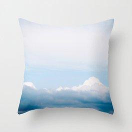Mountainous Clouds Throw Pillow