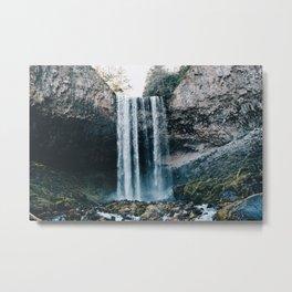 Tamanawas Falls Metal Print
