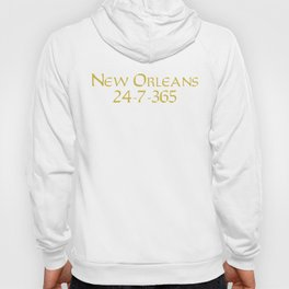 New Orleans 24-7-365 Shirt For New Orleans Football Fans Hoody