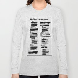 Hidden Horoscopes Long Sleeve T-shirt