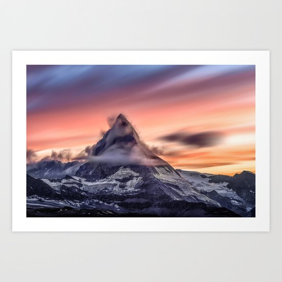 The Peak Art Print