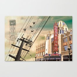 From Oakland, With Love Canvas Print