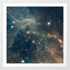Cool Space Art Print