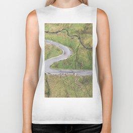 Hairpin bends on Glengesh Pass, Donegal Biker Tank