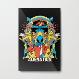 Alienation Metal Print