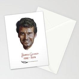 James Garner Stationery Cards