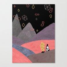 Mountain Girl Canvas Print