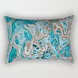 Beach Shallows 3 Rectangular Pillow