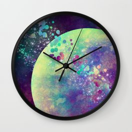 Orbital Wall Clock