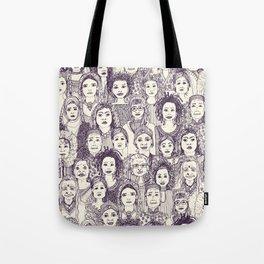 WOMEN OF THE WORLD PURPLE Tote Bag
