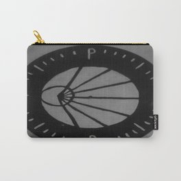 Pianos Become The Teeth Logo on Vinyl Carry-All Pouch
