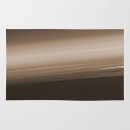Sepia Brown Ombre Rug