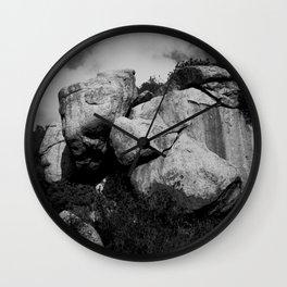 Mundo Mineral Wall Clock