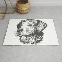 Drawing Dog Rugs | Society6