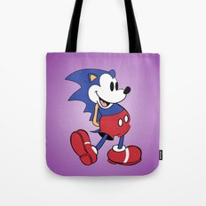 Mickey x Sonic Tote Bag